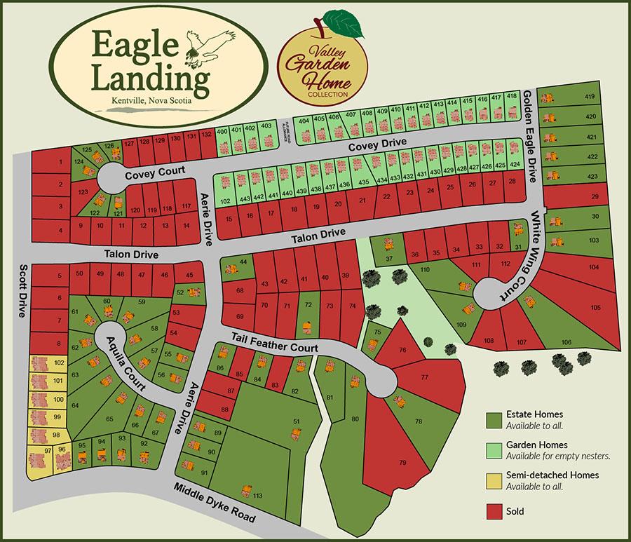Eagle Landing Map