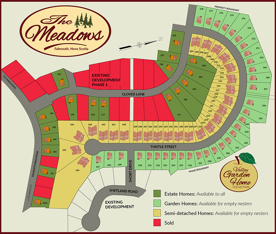 The Meadows Map